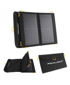 Ponilion® 13W SunPower SOLAR PANEL CHARGER,Foldable Solar Panel,Folding Solar Panel