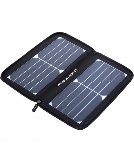 Ponilion® 10W SunPower SOLAR PANEL CHARGER,Waterproof Foldable Solar Panel,Folding Solar Panel