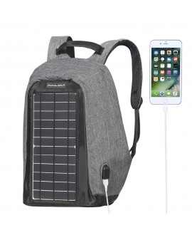 Ponilion® Solar Powered Backpack,10W Solar Panel Backpacks