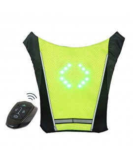 Ponilion® LED Turn Signal Vest Bike Pack