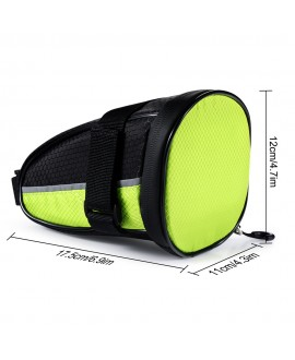 PONILION® LED Cycling Saddle Bag Bicycle Under Seat Bag
